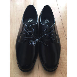 OKAMOTO 黒 短靴 革靴 新品24.5(ドレス/ビジネス)