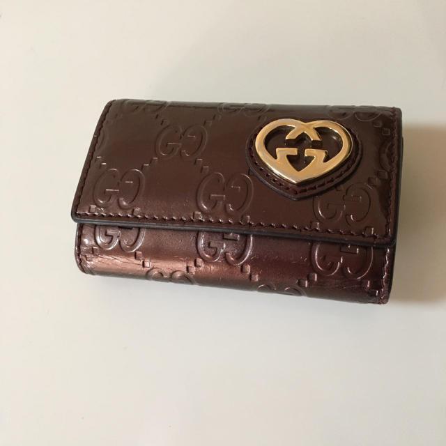 グッチ カバン スーパーコピー ヴィトン - Gucci - グッチ GUCCI シマ ラブリーハート6連キーケースの通販 by ryota0711's shop