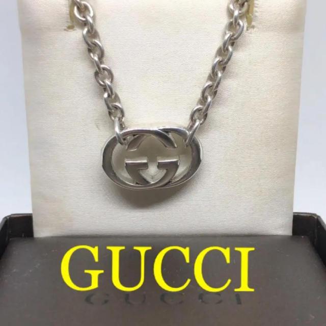 グッチ 時計 偽物ヴィトン - Gucci - 【美品】Gucci インターロッキングネックレスの通販 by たっくん's shop