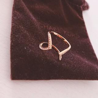 マイケルコース(Michael Kors)のMICHEAL KORS 指輪とネックレス(リング(指輪))