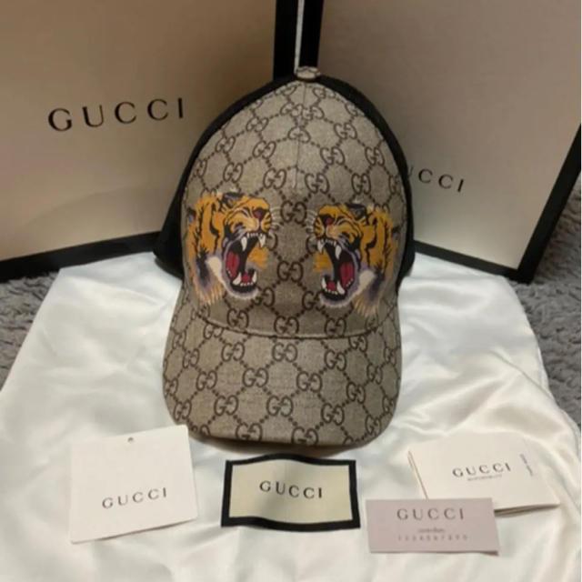 ro アクセサリー / Gucci - GUCCI GG キャップ 虎の通販 by (´・・`)ddd's shop