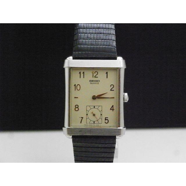 chanel メンズ 時計 | SEIKO - SEIKO 腕時計 スモセコ レクタンギュラー ヴィンテージ 角型の通販 by Arouse 's shop