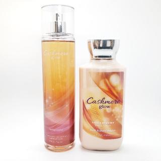 バスアンドボディーワークス(Bath & Body Works)のBath&Body Works Cashmere Glow 2点セット(香水(女性用))