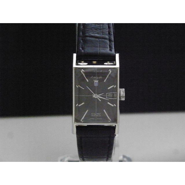 クロムハーツ 時計 スーパーコピー 東京 | ORIENT - Orient Lady A Crystal 手巻き腕時計 デイト 25JEWELの通販 by Arouse 's shop