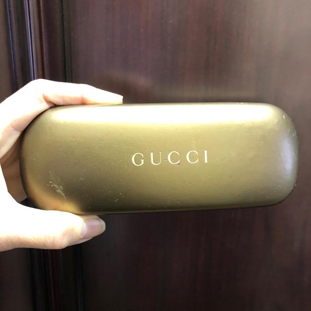p アクセサリー | Gucci - メガネケース GUCCIの通販 by くっすん's
