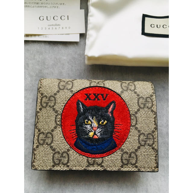 グッチ 財布 スーパーコピー 激安 twitter | Gucci - GUCCI ミスティックキャット ミニウォレット 財布 猫の通販 by KAN's shop