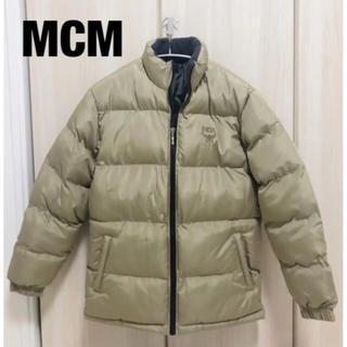 エムシーエム(MCM)の ★MCM ダウンジャケット ベージュ S★ (ダウンジャケット)