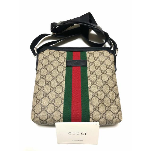 グッチ 時計 コピー vba - Gucci - GUCCI/グッチ  GGスプリーム シェリーライン ショルダー 美品 正規品の通販 by J's shop