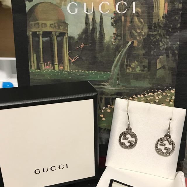 グッチ 靴 メンズ コピー | Gucci - Gucci インターロッキングG ピアスの通販 by tcety