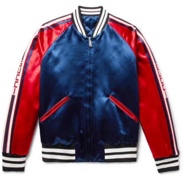 グッチ 長財布 激安 通販ファッション - Gucci - GUCCI ボンバージャケット リバーシブルの通販 by らい's shop