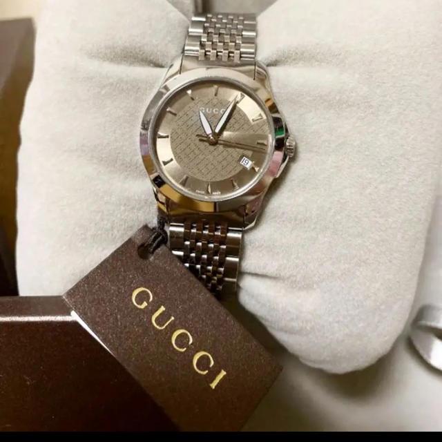スーパーコピー 時計 購入ローン | Gucci - GUCCI 時計 G-タイムレスコレクション (スモール�ージョン)�通販 by �む's shop