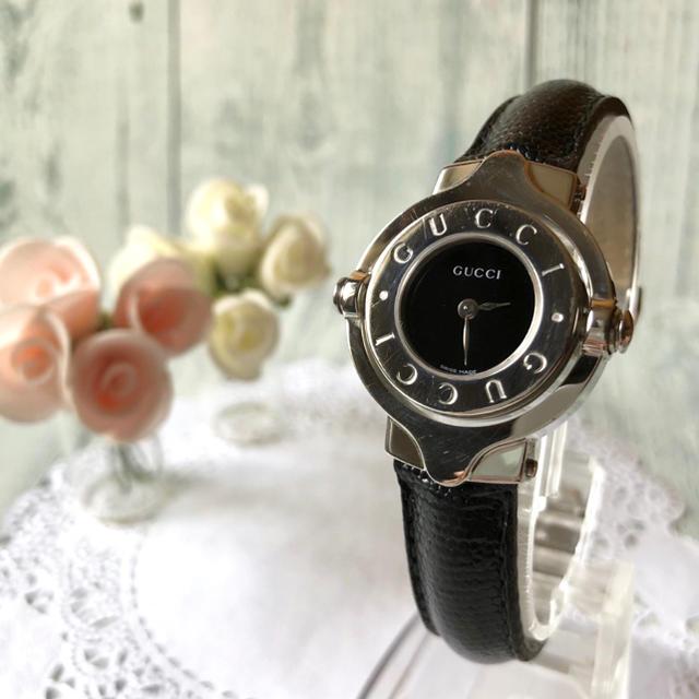セイミツ レバー 、 Gucci - 【動作OK】GUCCI グッチ 腕時計 6600L 回転ベゼル シルバーの通販 by soga's shop