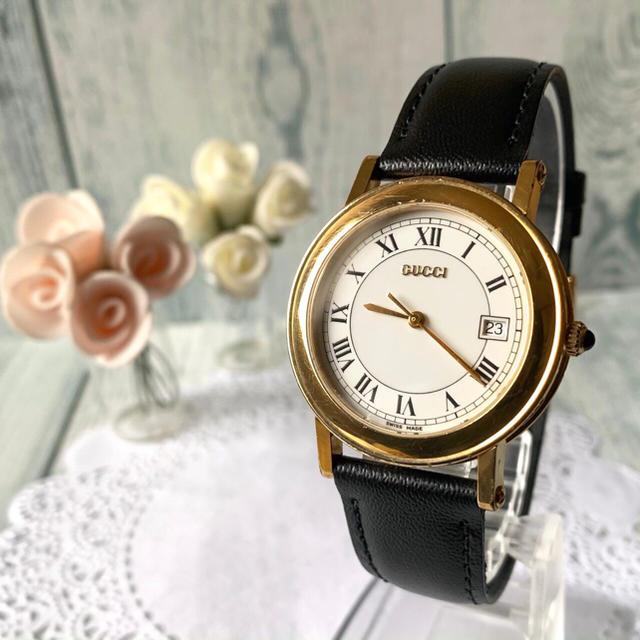 Gucci - 【電池交換済み】GUCCI グッチ 7200M 腕時計 ゴールド メンズの通販 by soga's shop