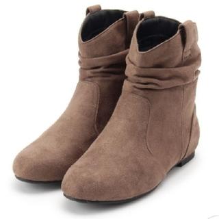 ドレスキップ(DRESKIP)のワールド ドレスキップ ブーツ ブラウン ユニクロ GU sm2 ぺたんこ靴(ブーツ)