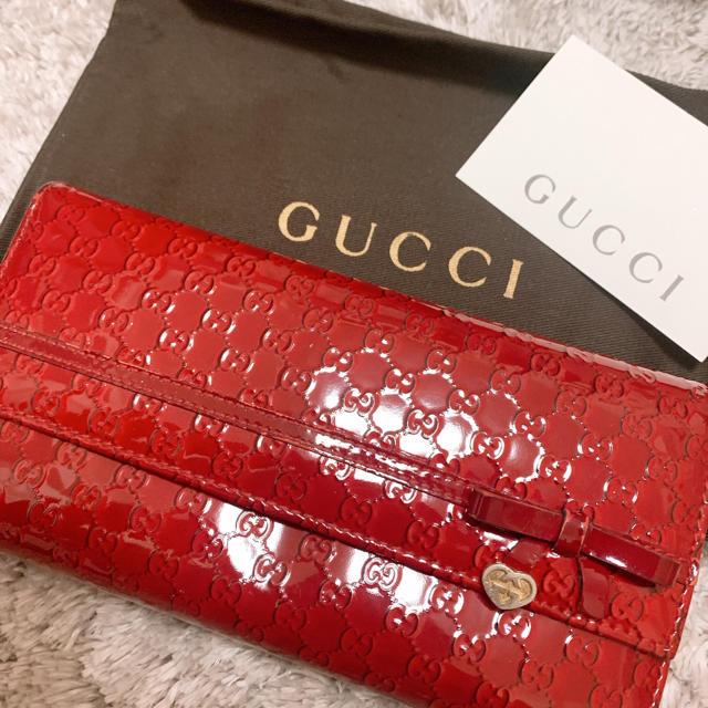 gucci キャップ 偽物 - Gucci - GUCCI  長財布の通販 by ma.S shop