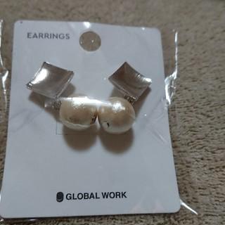 グローバルワーク(GLOBAL WORK)の💮クリスマスプレゼントお値下げイヤリング(イヤリング)