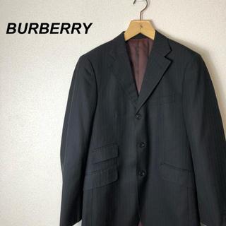 バーバリーブラックレーベル(BURBERRY BLACK LABEL)の【美品】BURBERRY BLACK LABEL セットアップ ストライプ(セットアップ)