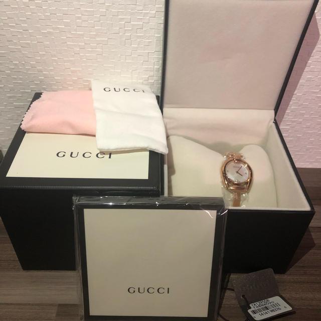dunhill 財布 偽物 見分け方グッチ / Gucci - 即購入OK 新品GUCCI グッチ腕時計 YA139508の通販 by なおとん's shop