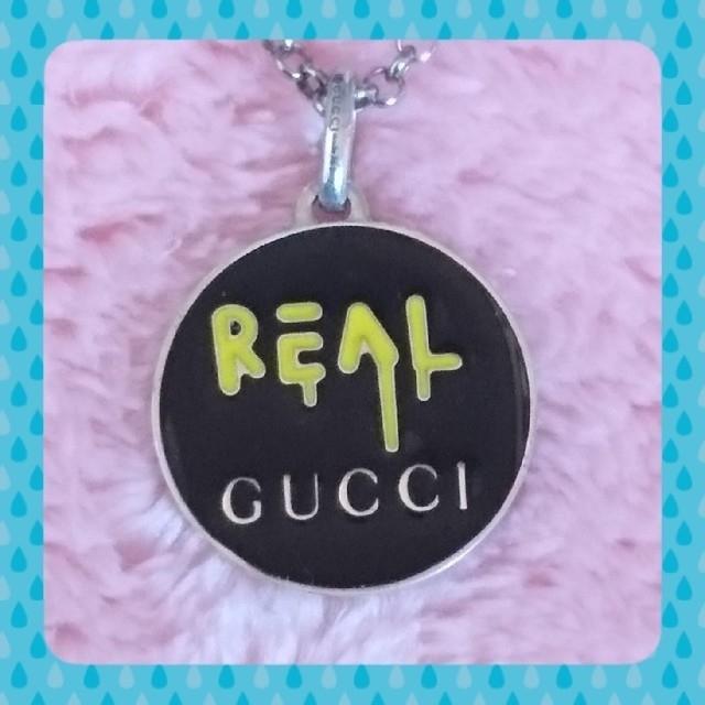 グッチ コピー品 | Gucci - 【正規品】GUCCI ゴーストネックレスの通販 by 🍓いちごちゃん🍓