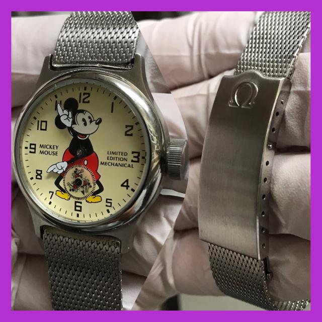 OMEGA - ディズニー株主限定 ミッキーマウス 腕時計  Ωオメガ純正ベルト2028付属Ωの通販 by  ☆くみchan☆'s shop