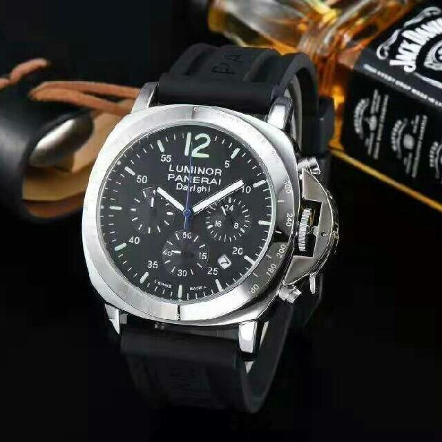 クロムハーツ 時計 レプリカ激安 / PANERAI - パネライ黒文字盤 メンズ 腕時計の通販 by 慶子#'s shop