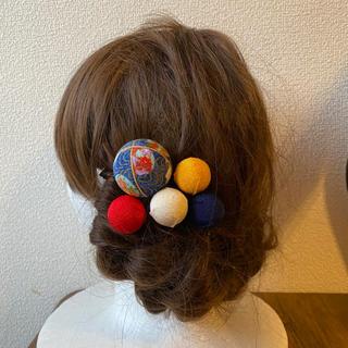 玉かんざしの髪飾り【19】(和装小物)