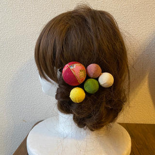 玉かんざしの髪飾り【23】(和装小物)