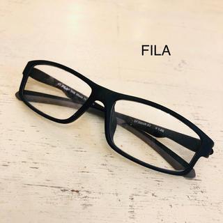 フィラ(FILA)の【FILA】フィラ 黒縁メガネ 眼鏡 黒 ブラック(サングラス/メガネ)