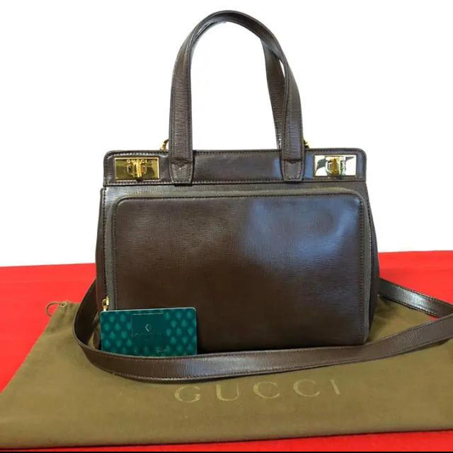 スーパーコピー グッチ バッグ 安い 、 Gucci - 美品 希少 グッチ オールドグッチ 2way ショルダーバッグ ハンドバッグの通販 by マチルダ's shop