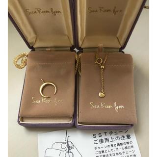 シールームリン(SeaRoomlynn)のSearoomlynn order jewelry moon necklace(ネックレス)