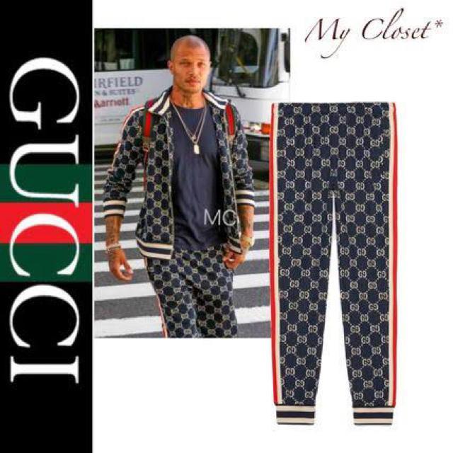 Gucci - Gucci グッチ ジャージ パンツの通販 by amaz○n