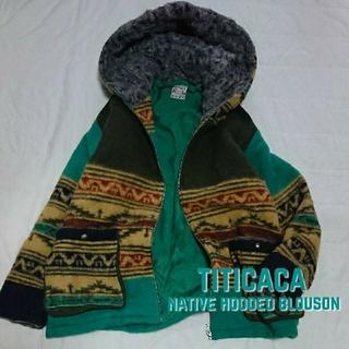 チチカカ(titicaca)のチチカカ TITICACA 裏ボア圧縮WOOLネイティブオルテガブルゾン 新品(ブルゾン)