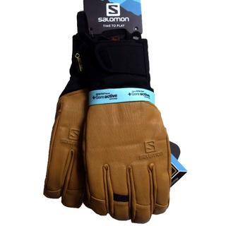 サロモン(SALOMON)のサロモン QST ゴアテックス グローブ 手袋 スキー スノボ XL(ウエア)