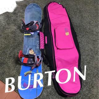 バートン(BURTON)のスノーボード バートンのFEELGOOD 板の長さは149㎝です(ボード)