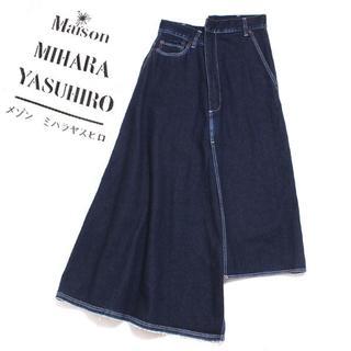 MIHARAYASUHIRO - Maison MIHARA YASUHIRO アシンメトリーデニムスカート