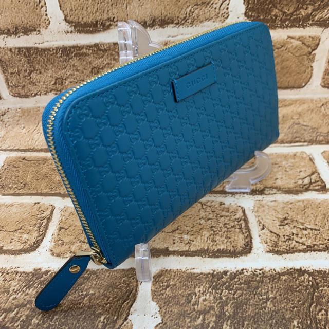 cr vアクセサリー電源 / Gucci - ✨新品✨グッチ マイクロ✨シマ ラウンドファスナー  長財布の通販 by シゲ's shop