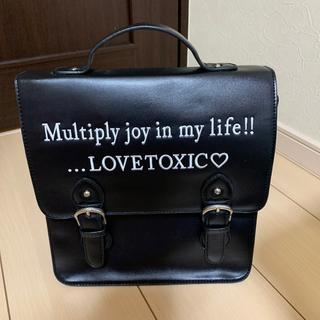 ラブトキシック(lovetoxic)のリュック(リュック/バックパック)