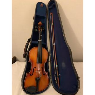 スズキ(スズキ)の木曽福島 No.3 バイオリン 1/4 Stradivarius モデル(ヴァイオリン)