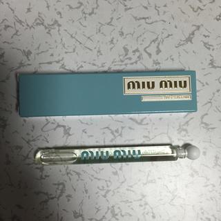 ミュウミュウ(miumiu)のmiumiu 香水 4ml(香水(女性用))