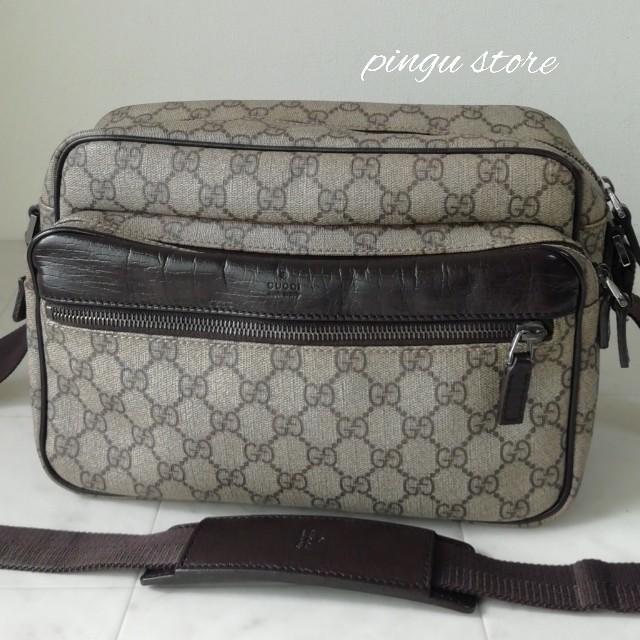 Gucci - 【美品 正規品】グッチ ショルダーバッグ PVCの通販 by ピングー☆'s shop
