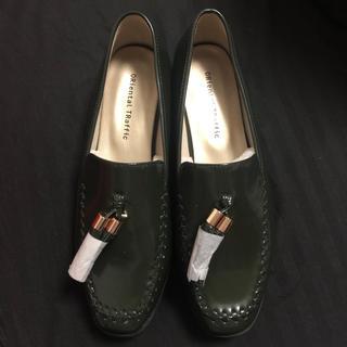 オリエンタルトラフィック(ORiental TRaffic)のORiental TRaffic タッセルステッチローファー(ローファー/革靴)