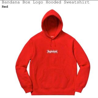 シュプリーム(Supreme)のSupreme Bandana Box Logo Hooded  (パーカー)
