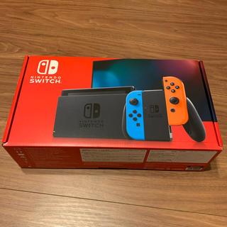 ニンテンドースイッチ(Nintendo Switch)のNintendo Switch ニンテンドースイッチ ネオンカラー 新品未使用(家庭用ゲーム機本体)