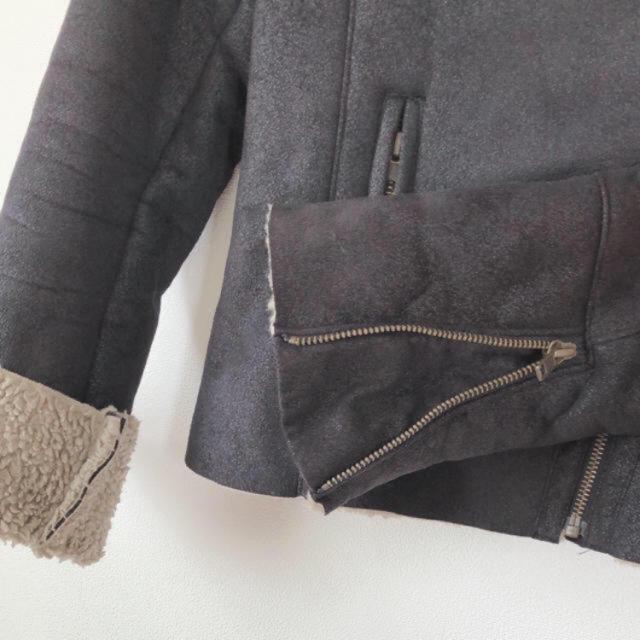 Ungrid(アングリッド)のアングリッド レザージャケット ライダース ファー レディースのジャケット/アウター(ライダースジャケット)の商品写真