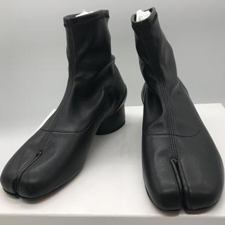 マルタンマルジェラ(Maison Martin Margiela)のMaison Margiela Tabi足袋フェイクレザーソックスブーツ 新品(ブーツ)
