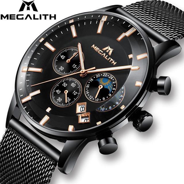 時計 スーパーコピー 代引き対応 / 海外人気ブランド 腕時計 メンズ MEGALITE クロノグラフの通販 by T's shop