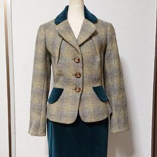 ヴィヴィアンウエストウッド(Vivienne Westwood)のViviennewestwood  ツイードスーツ  2(スーツ)
