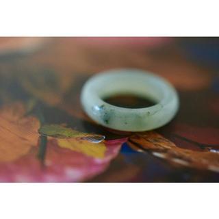 154-27 1.5~2.0号 小指 天然 A貨 翡翠リング 硬玉ジェダイト(リング(指輪))