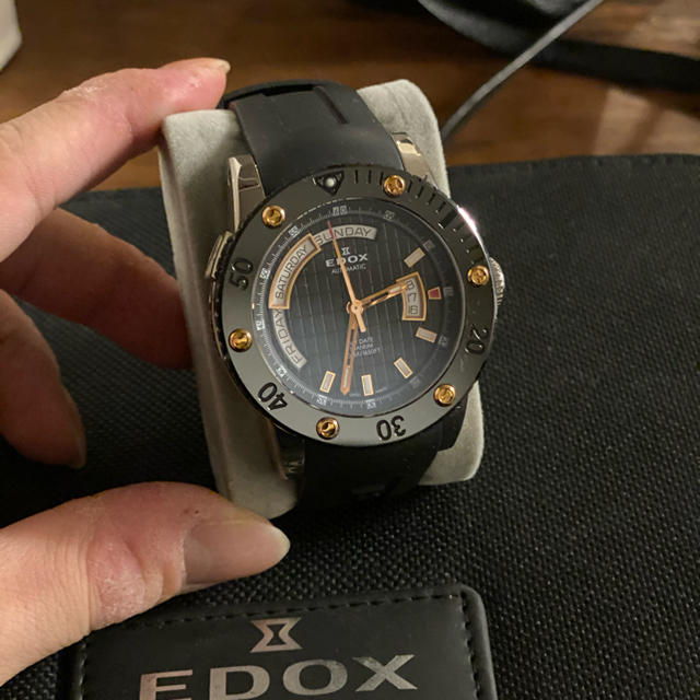 EDOX - edox 腕時計 美品の通販 by oogurishun's shop