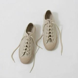 ワンエルディーケーセレクト(1LDK SELECT)の希少 STUDIO NICHOLSON:Merino Canvas Shoes(スニーカー)